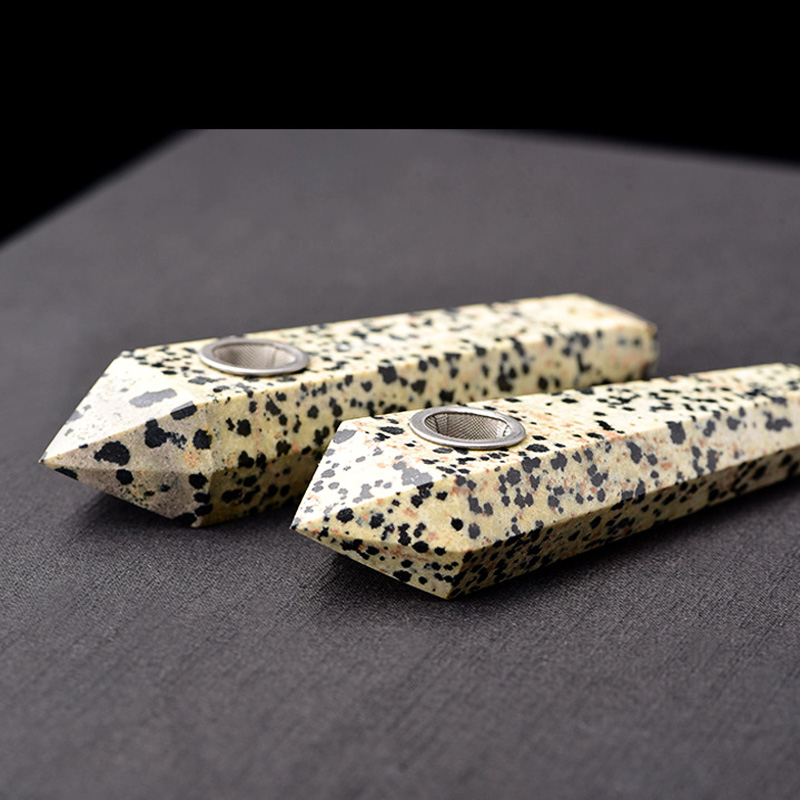 Natural-Quartz-Spots-Stone-Crystal-Pipe-Carb